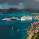 cruise ships and port