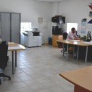 inside our office